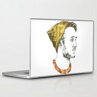 indie Laptop & iPad Skins featuring Indie Boy by Anne Dippy
