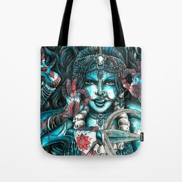 Goddess Kali Tote Bag