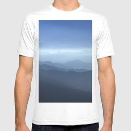 Blue dreams II. Misty mountains T-shirt