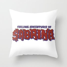 Chilling Adventures Of Sabrina Throw Pillow