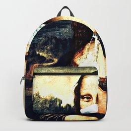 Mona Lisa Quarantine Backpack