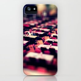 Tables and such. iPhone Case