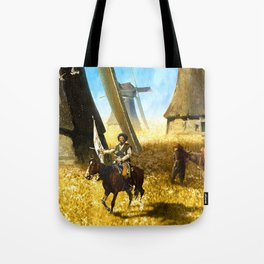 Giants on the Plains Tote Bag