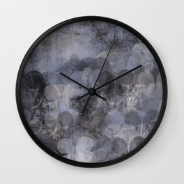 Puffy Spatter Wall Clock
