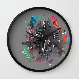 hairs Wall Clock