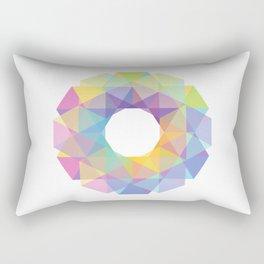 Fig. 036 Colorful Circle Rectangular Pillow