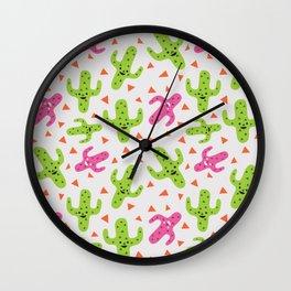 Dancing Cactus Wall Clock