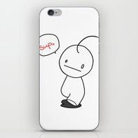 cryaotic iPhone & iPod Skins featuring Cry by Airinx