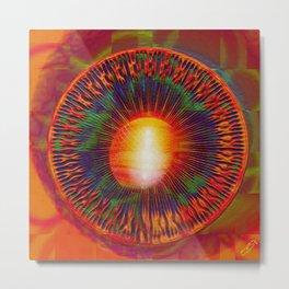 """"""" Mandal ' Eyes """" Metal Print"""