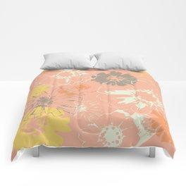 Late Summer Peach Comforters