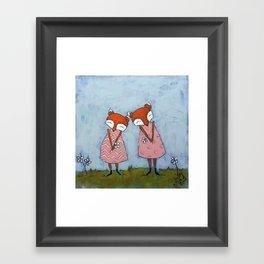Best Sisters Framed Art Print
