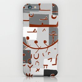 Paul Klee Inspired - The Nile #2 iPhone Case