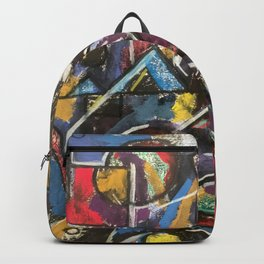 Birds Converse at Dusk Backpack