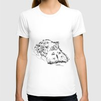 hippo T-shirts featuring Hippo by Julia Kisselmann