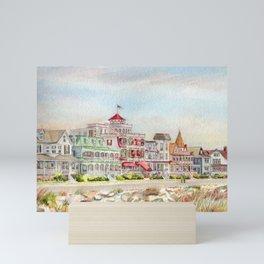 Cape May Promenade Mini Art Print