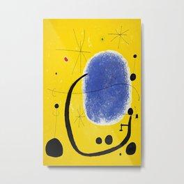 miro painting, miro print, wall decor, home decor Metal Print