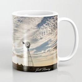 Sandhills Windmill @ Sunset Horizontal Mug