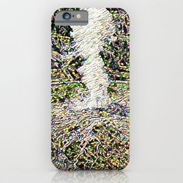 Old Faithful Eruption Re-envisioned iPhone Case