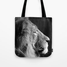 Pretty Kitty in Black & White Tote Bag