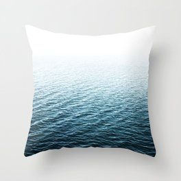 Water Photography Throw Pillow