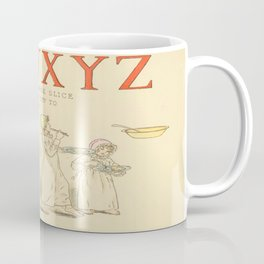 Alphabet - Children in the morning. Coffee Mug