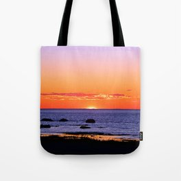 Stunning Seaside Sunset Tote Bag