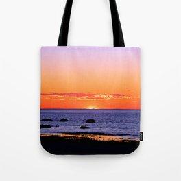 Stunning Seaside Sunset Tote Bag