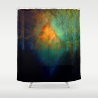 fringe Shower Curtains featuring Fringe Theory by Susan Butler