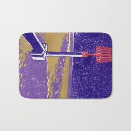 Seaview Fire Beacon in Purple Bath Mat
