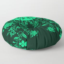 floral ornaments pattern chp150 Floor Pillow