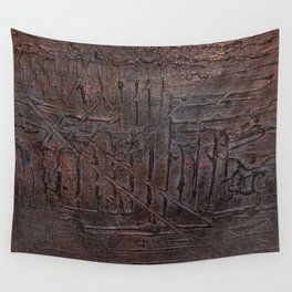 Underneath the Blindfold Wall Tapestry