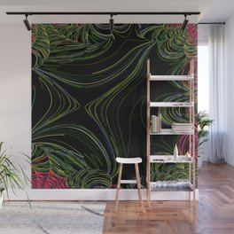 Rainforest abstract Wall Mural