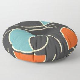 Polychrome Fantasy Floor Pillow