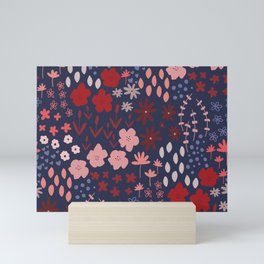 Ditsy Floral Mini Art Print