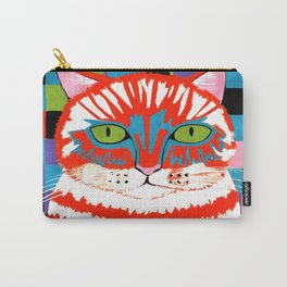 Bad Cattitude - Cats Carry-All Pouch