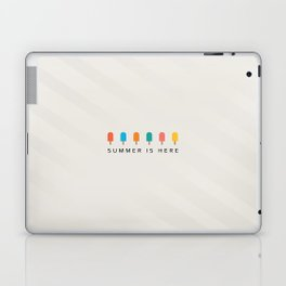 SUMMER IS HERE Laptop & iPad Skin