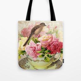 Tea flowers #3 Tote Bag