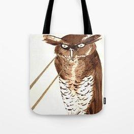 Laser Owl Tote Bag