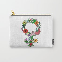 Feminist flower in color Carry-All Pouch