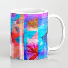 Watercolour Geos and Stripes Coffee Mug