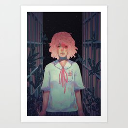 To the Library Art Print