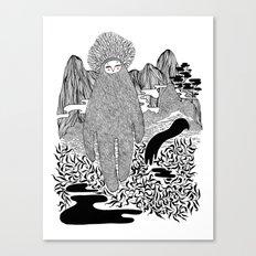 Cudak górski Canvas Print