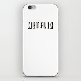 Television iPhone Skin