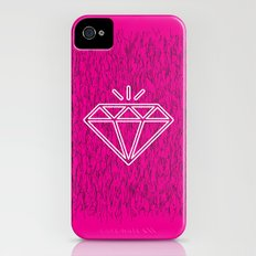 diamond magenta Slim Case iPhone (4, 4s)