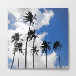Palmy paradise Metal Print