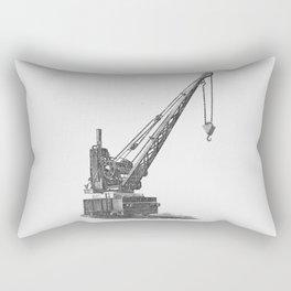 Railroad crane Rectangular Pillow