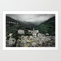 Cinque Terre, Italy - View of Vernazza Art Print