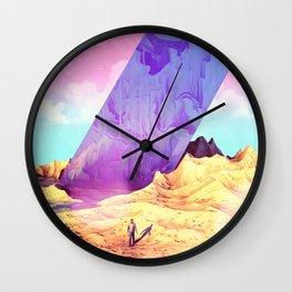 Oblique Plane Wall Clock