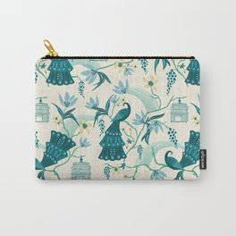 Aviary - Cream Carry-All Pouch