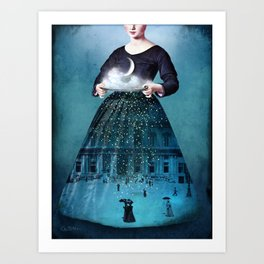 Frau Holle Art Print